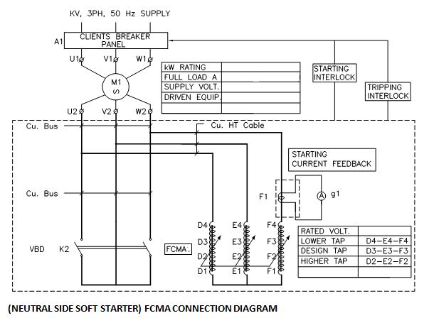 Soft Starter Wiring Diagram : Fcma soft starter wiring diagram